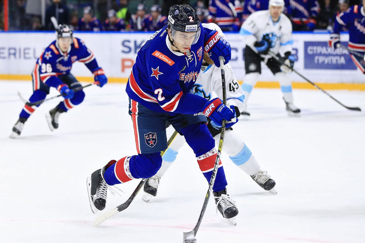 Kontinental Hockey League: SKA St Petersburg 5 - 0 Dinamo Minsk