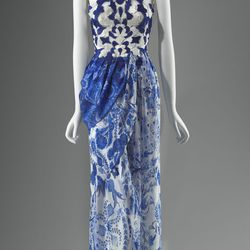 Dress, 2011; Rodarte. Silk. Museum purchase with funds donated by the Fashion Council, Muse. Reproduced with permission. Photograph © Museum of Fine Arts, Boston