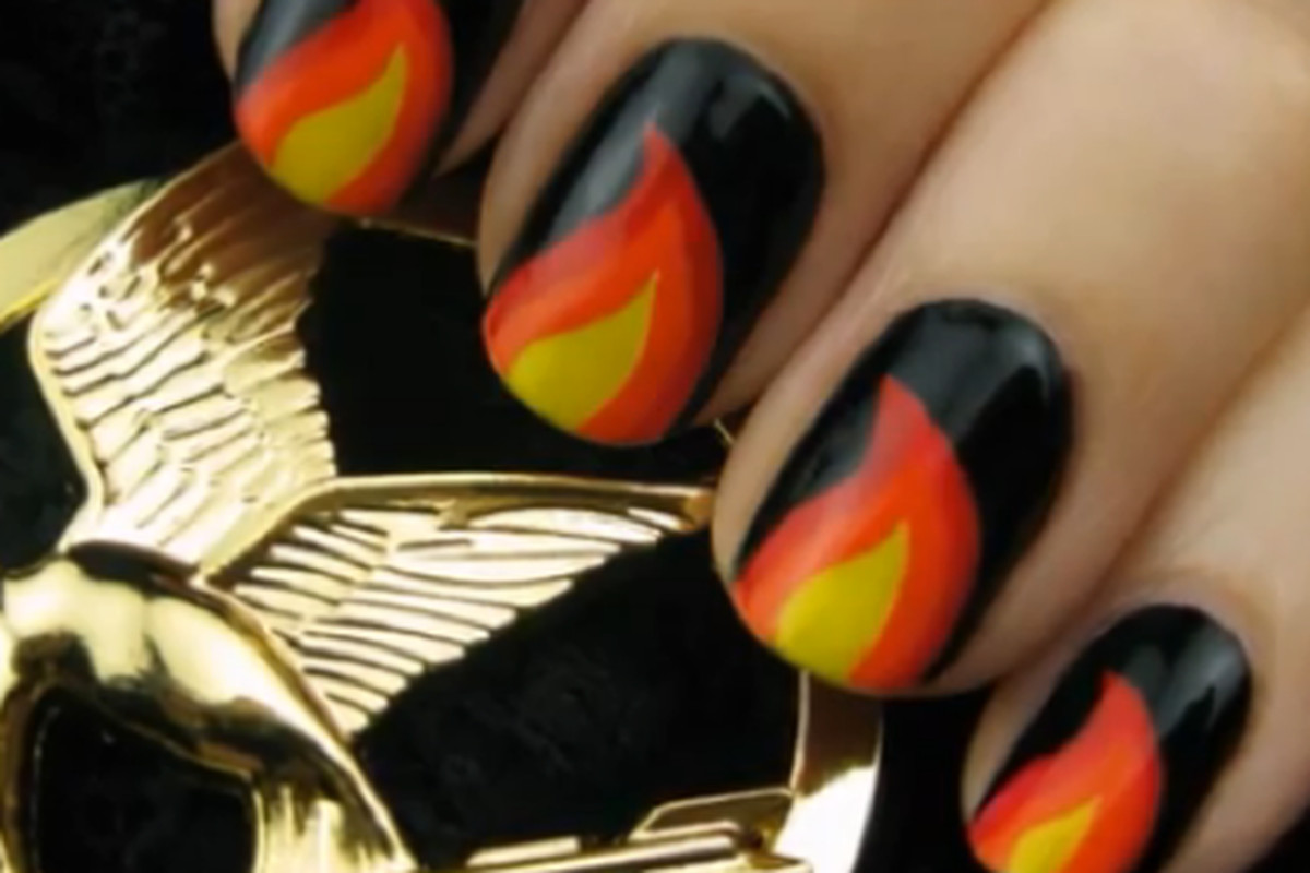 Nails by CutePolish, via YouTube