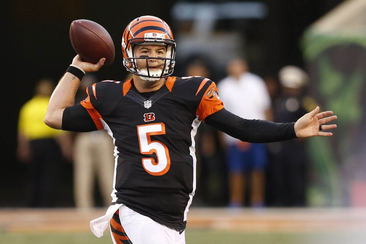 save off 5fcd1 d1b5e AJ McCarron is available for trade, but the Bengals aren't ...
