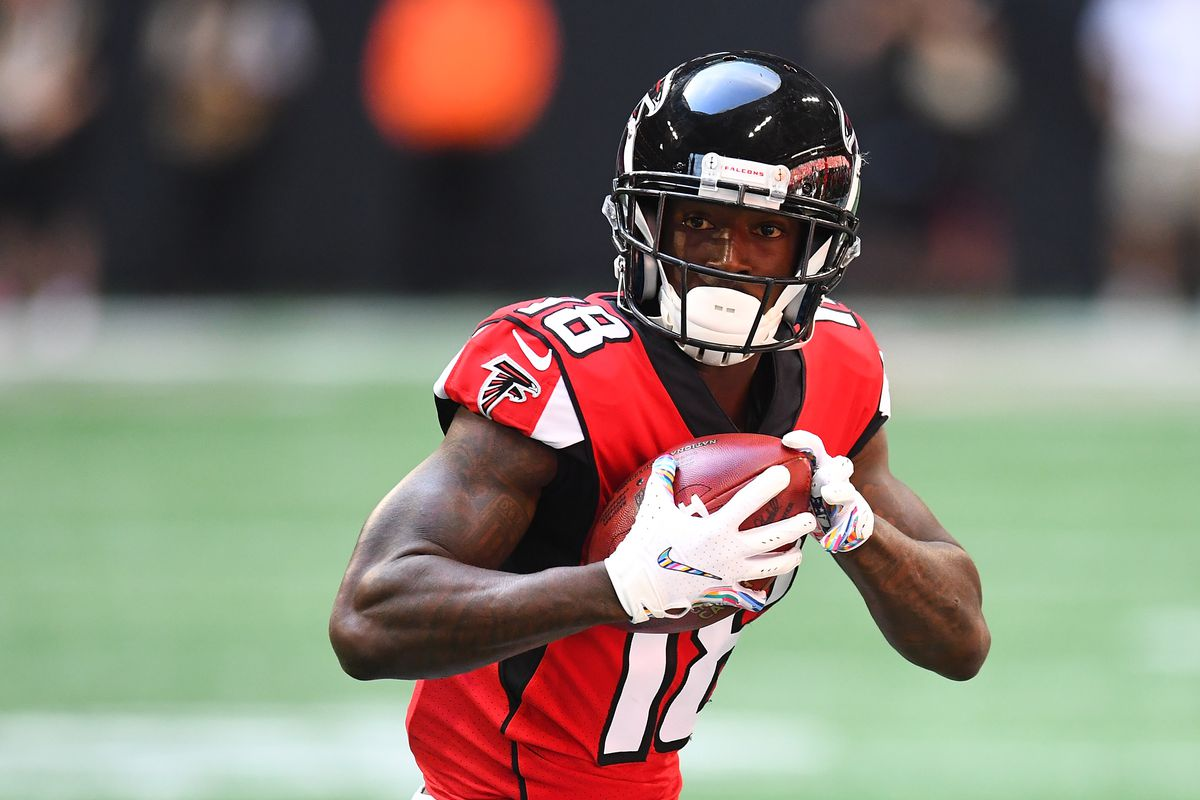 2018 Nfl Re Draft Calvin Ridley Goes At No 16 Falcons End Up With Marcus Davenport The Falcoholic