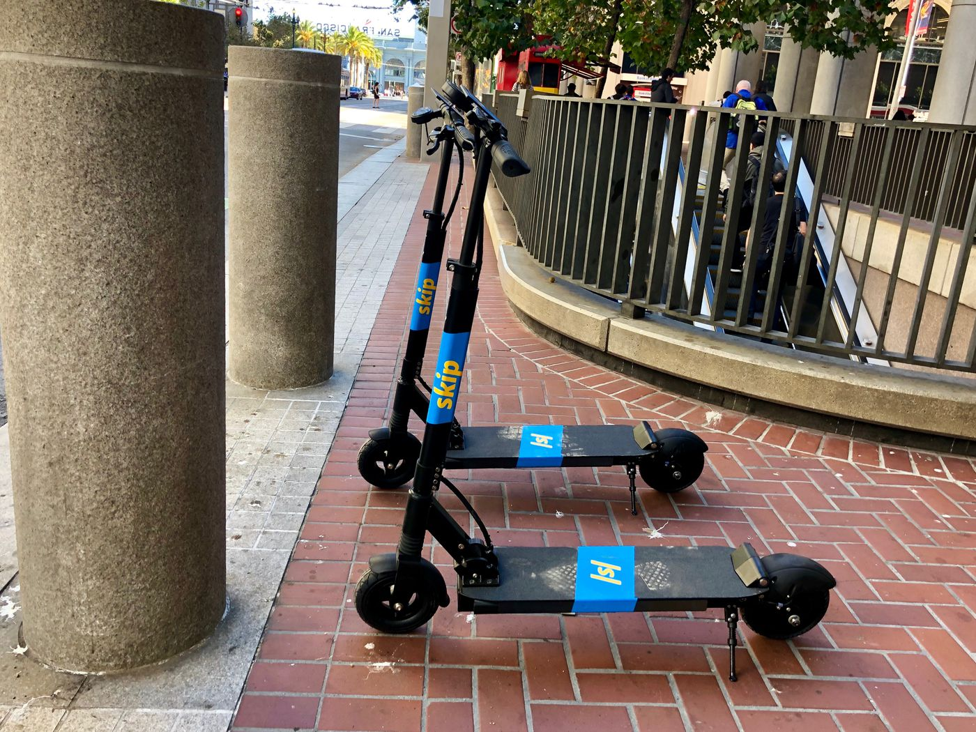 After electric scooter fire, Skip takes fleet off streets - Curbed SF