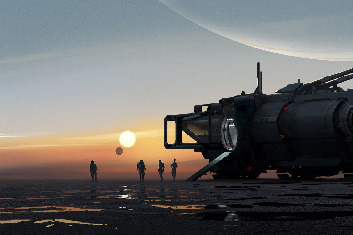 Teaser artwork for the next Mass Effect