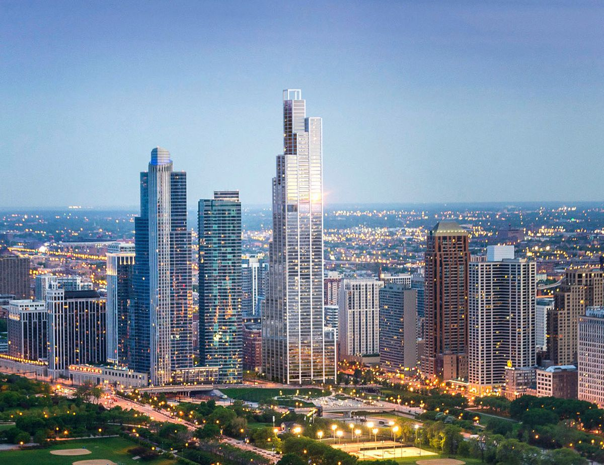 The New Skyscrapers Changing Chicago S Skyline Curbed