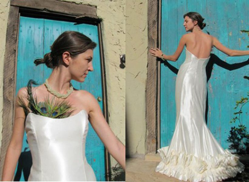 Cannabis Couture Wedding Gowns and Shoes - Racked LA