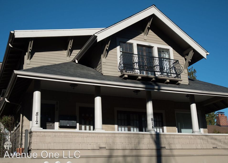 A Craftsman house with a large front porch