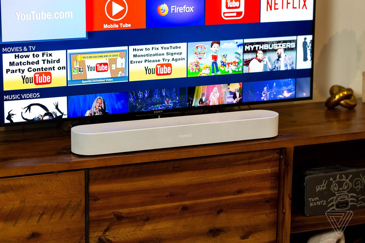 The Beam is Sonos' ambitious attempt to win the living room - The Verge