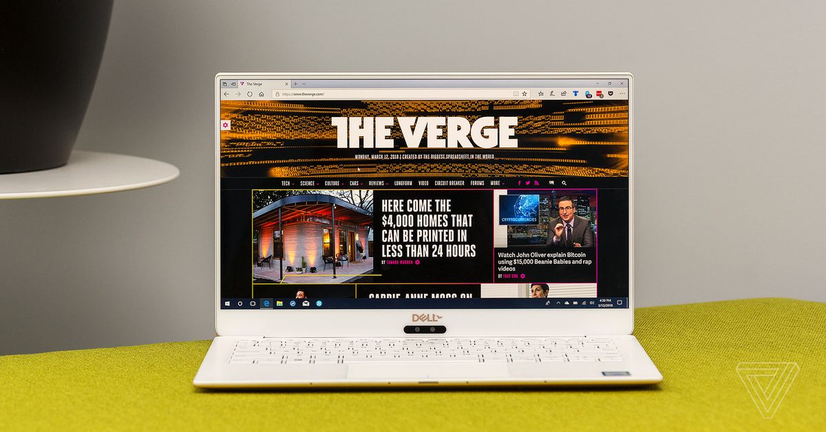 Dell XPS 13 review (2018): compact compromises - The Verge