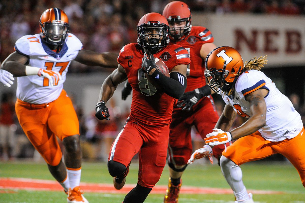 Ameer Abdullah is probably the second best running back in the country.
