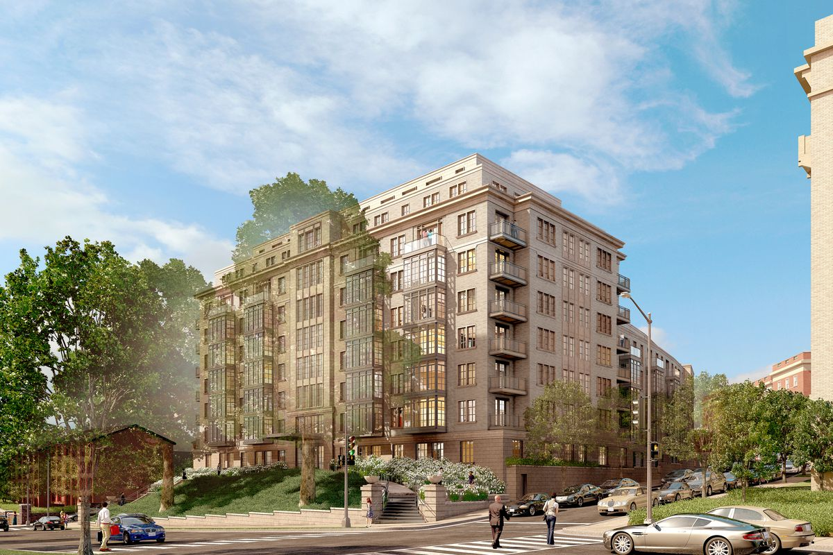 Proposed 110-unit condo building by Meridian Hill Park wins approval ...