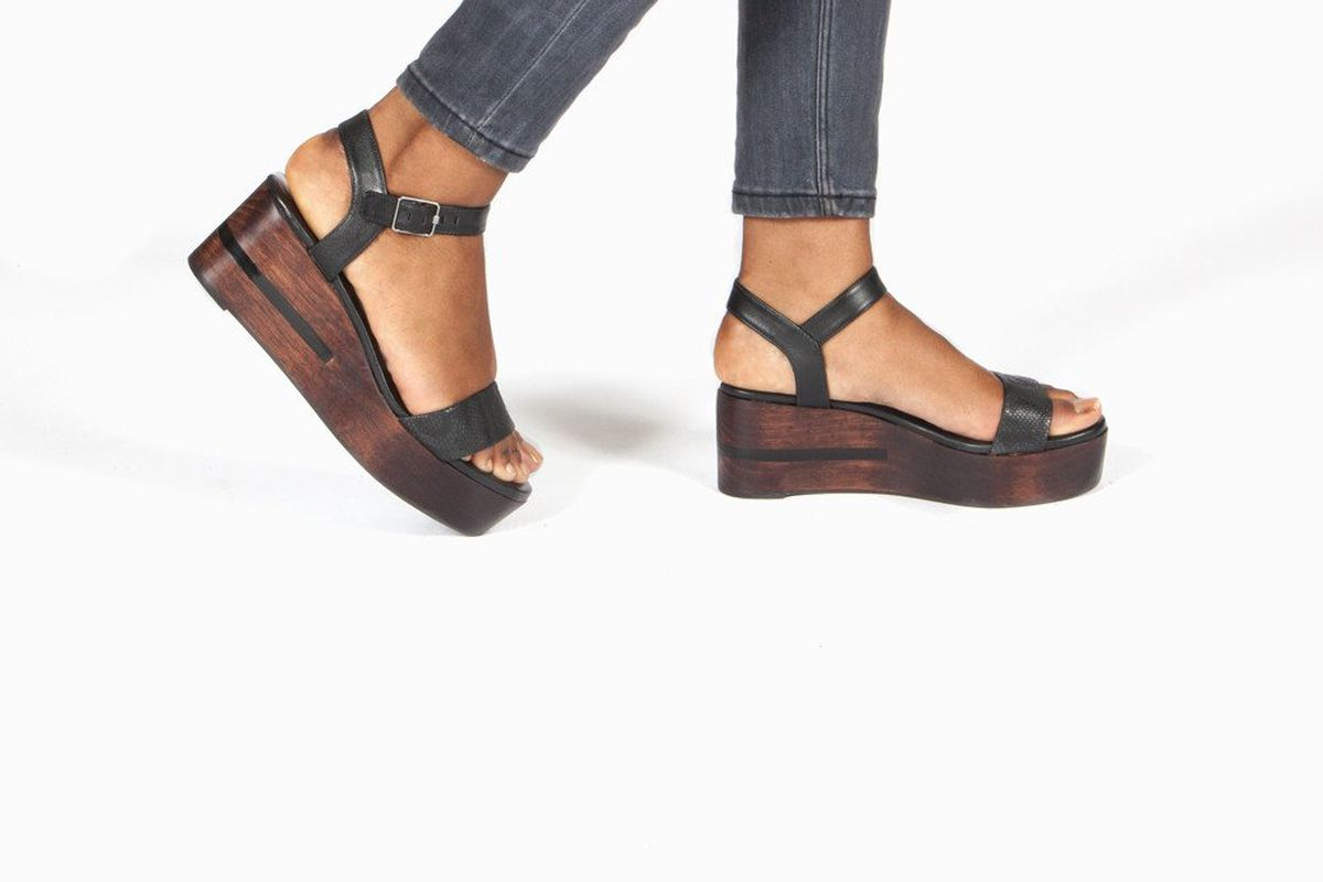 b056c76234f Platform Sandals Are Very Much a Thing Again - Racked
