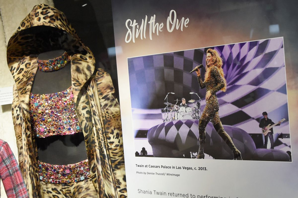 Shania Twain Exhibit Opening - Country Music Hall of Fame and Museum