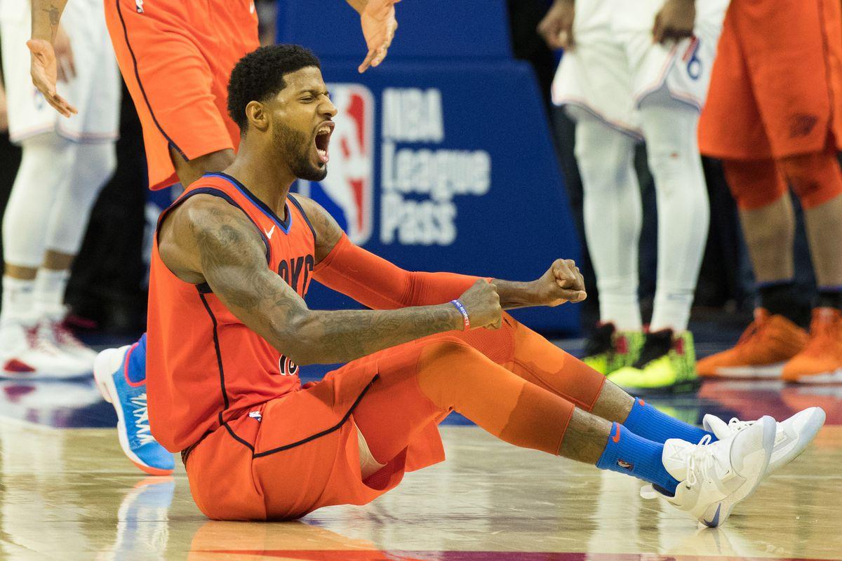 NBA: Oklahoma City Thunder at Philadelphia 76ers