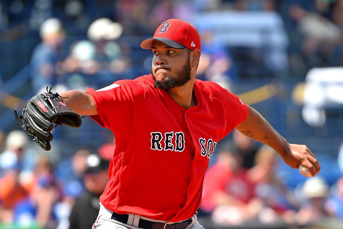 MLB: Spring Training-Boston Red Sox at New York Mets