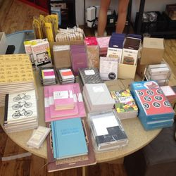Stationary goods including Moleskin are 30-50% off
