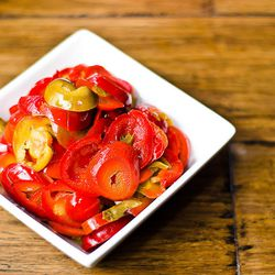 5 cases of peppers per week