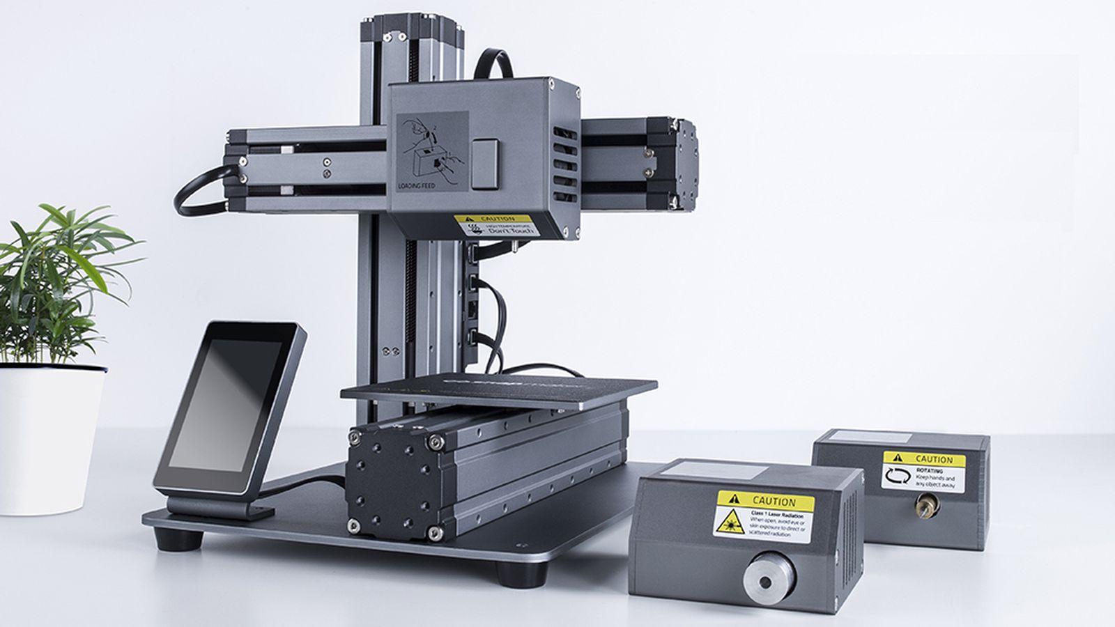This Modular 3d Printer Can Turn Into A Cnc Machine Or