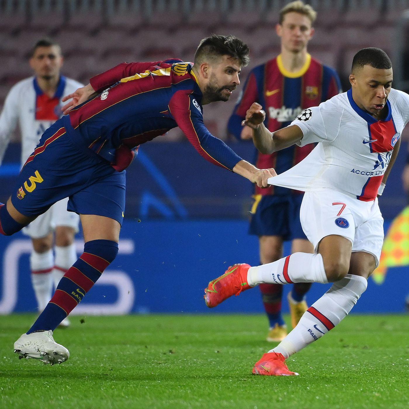 Barcelona Vs Paris Saint Germain Champions League Final Score 1 4 Barca Destroyed At Home By Kylian Mbappe Barca Blaugranes