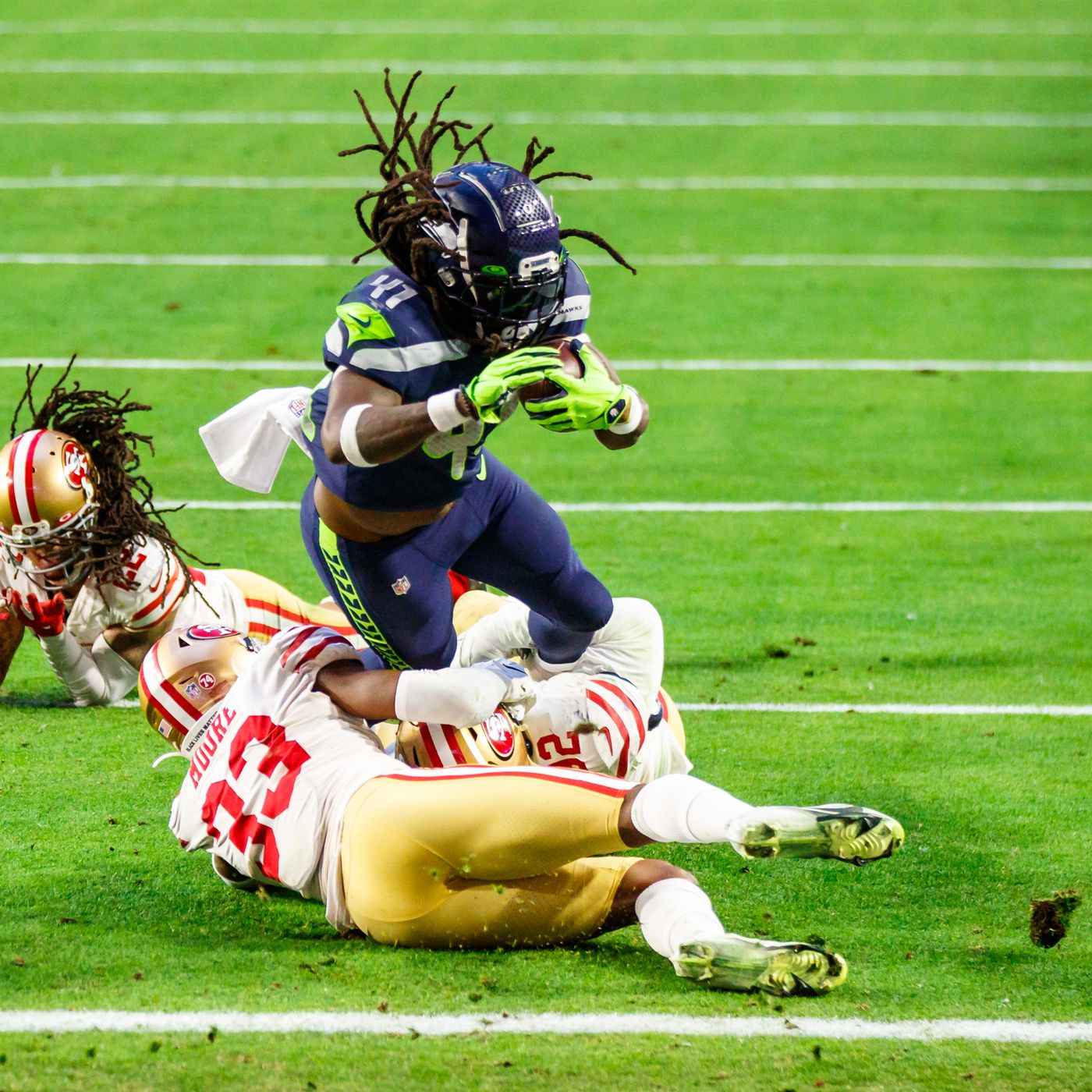Alex Collins has earned the opportunity to be Seattle Seahawks ...