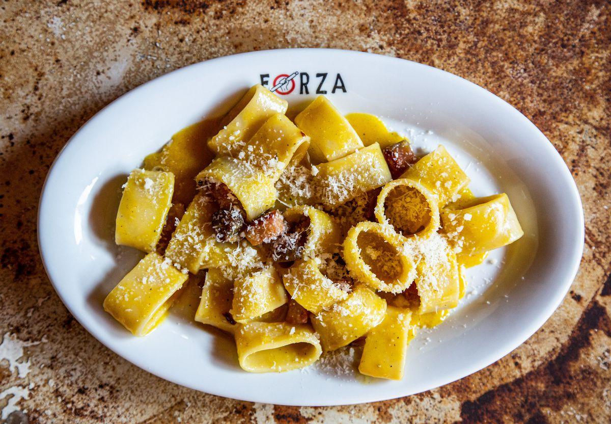 Carbonara at Forza Storico