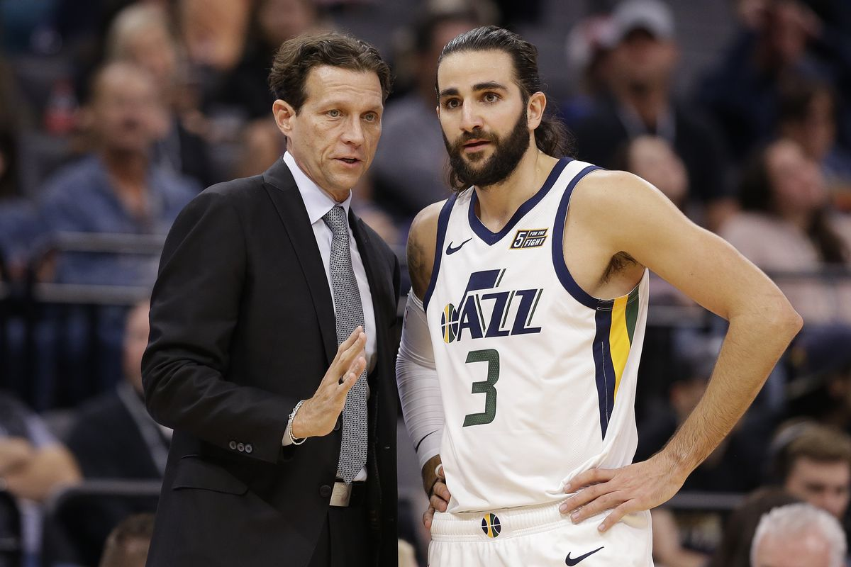 new style d42a6 6b8d8 No deals for Utah Jazz as Ricky Rubio steals the trade ...