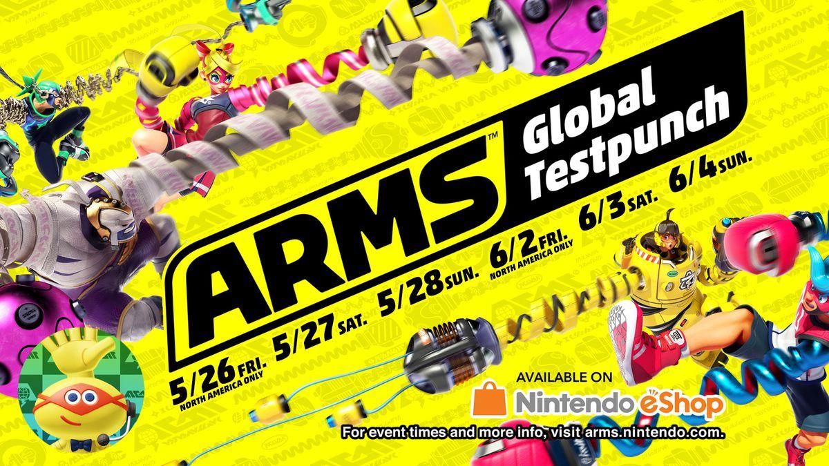 Nintendo Direct 5/17/17 - Arms Global Testpunch