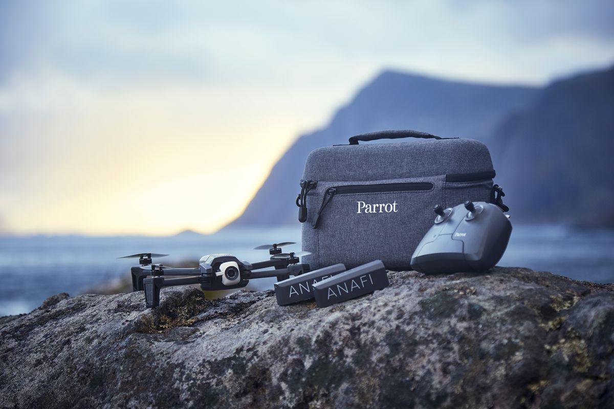 Parrot releases useful new photo modes for its Anafi drone - The Verge