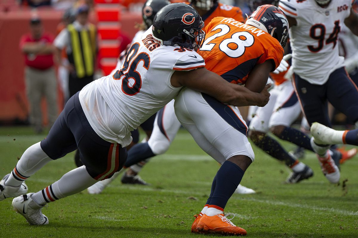 Akiem Hicks out at least 8 weeks after Bears place him on injured reserve