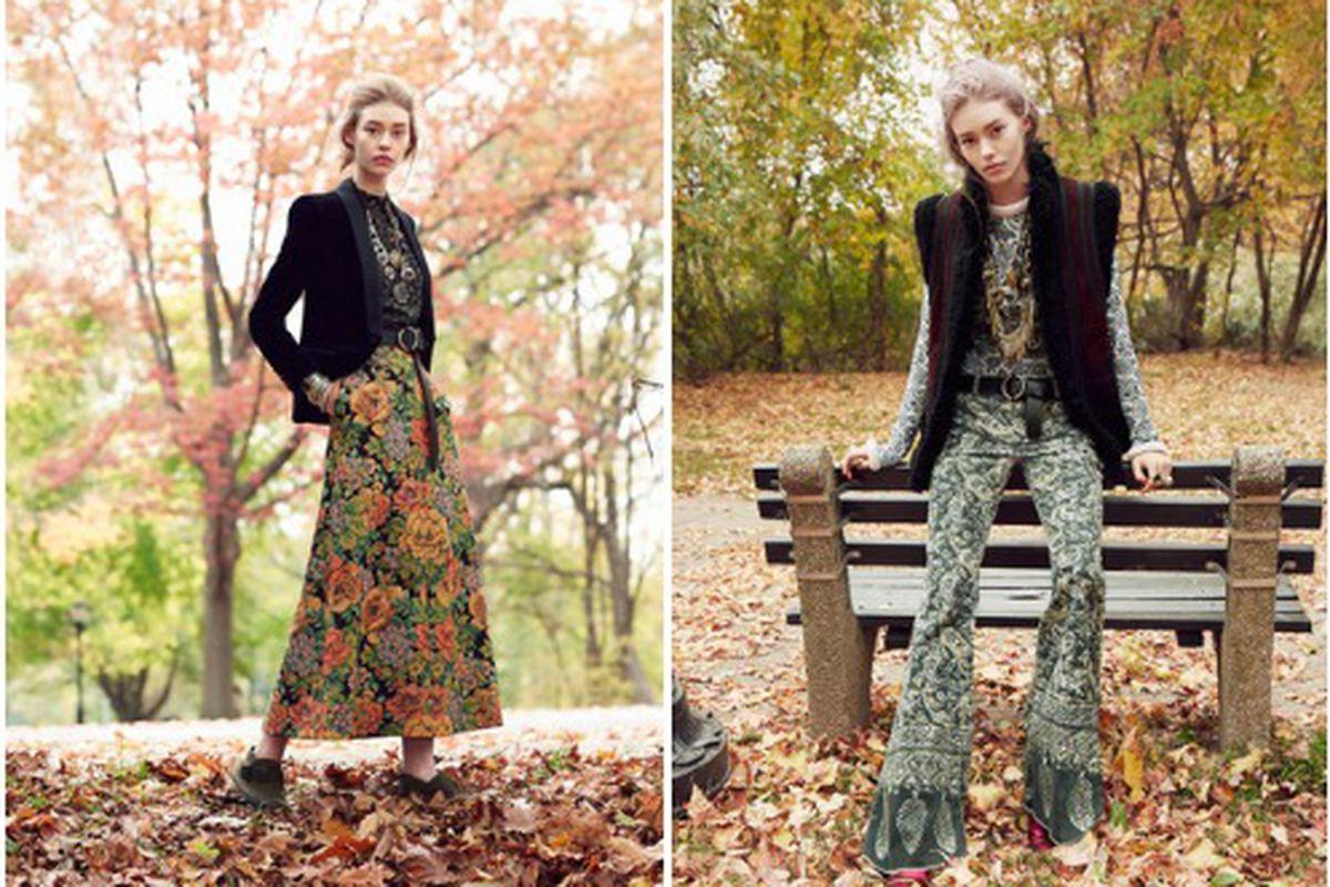 "Photos: <a href=""http://www.vogue.com/slideshow/4601661/fall-fashion-floral-prints-skirts-pants/#2"">Vogue</a>"