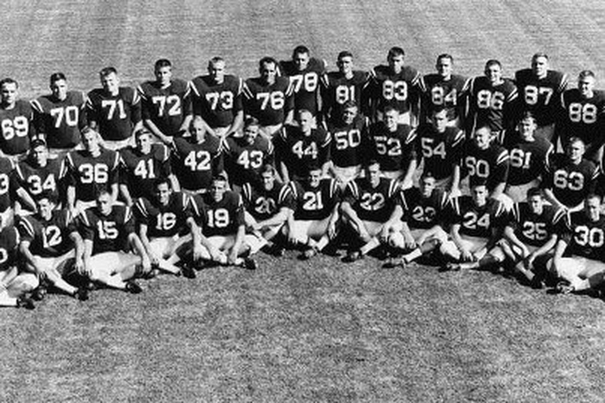 The 1962 undefeated Ole Miss Rebels