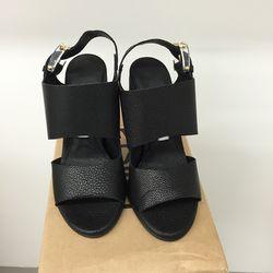 Black Carlynn stingray sandals, $200