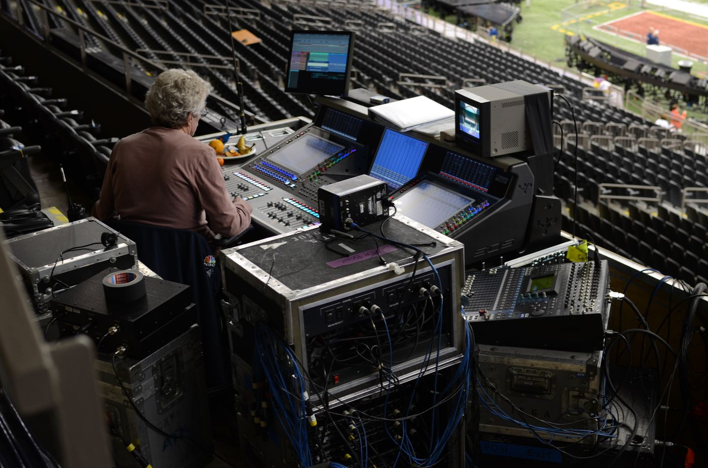 How the Super Bowl halftime show gets set up in just six
