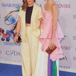 Claire Distenfeld and Leandra Medine