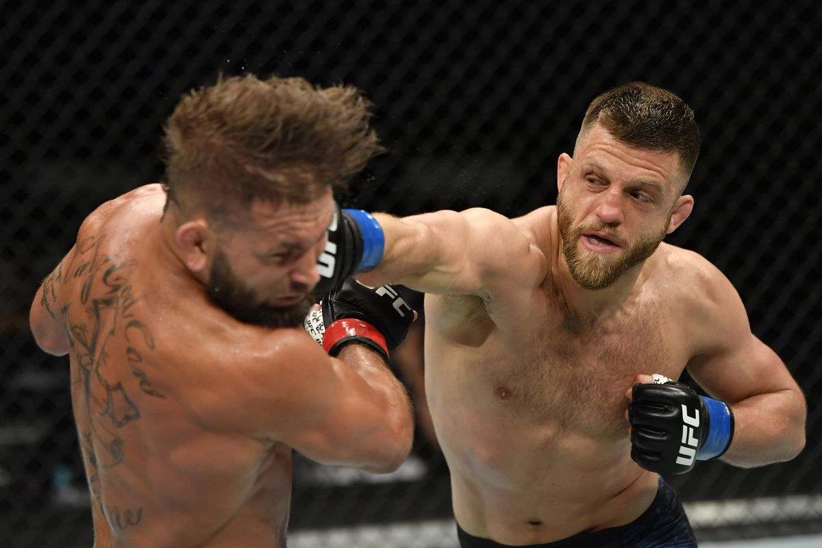 UFC 249 results: Calvin Kattar demolishes Jeremy Stephens with brutal elbow strike - MMA Fighting