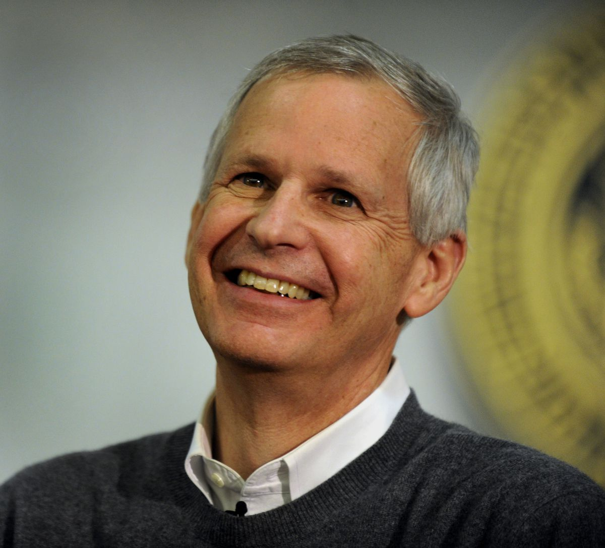 "Dish Network Corporation Chairman Charlie Ergen responded to questions during an ""Entrepreneurs Unplugged"" event at the University of ColoradoTuesday night, April 17, 2012. Karl Gehring / The Denver Post"