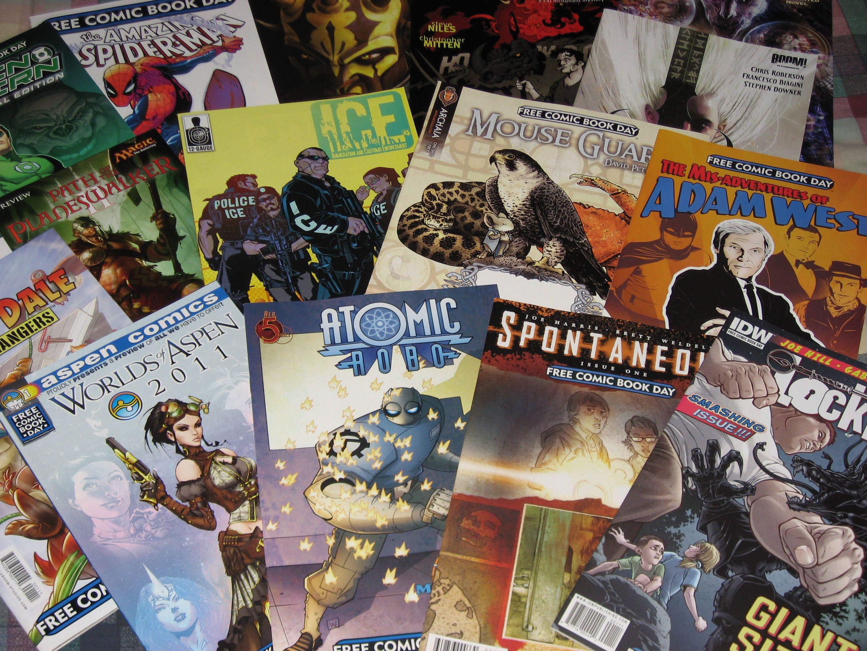 Free Comic Book Day (Flickr user ajalfaro)