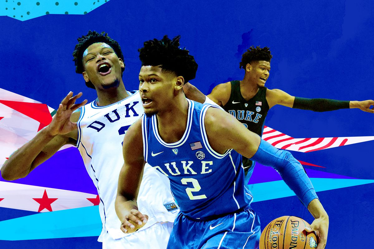 official photos d03c5 c11b7 The Hawks' Cam Reddish is the 2019 NBA Draft's best and ...
