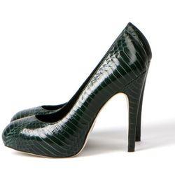Snakeskin pumps from Kathryn Amberleigh