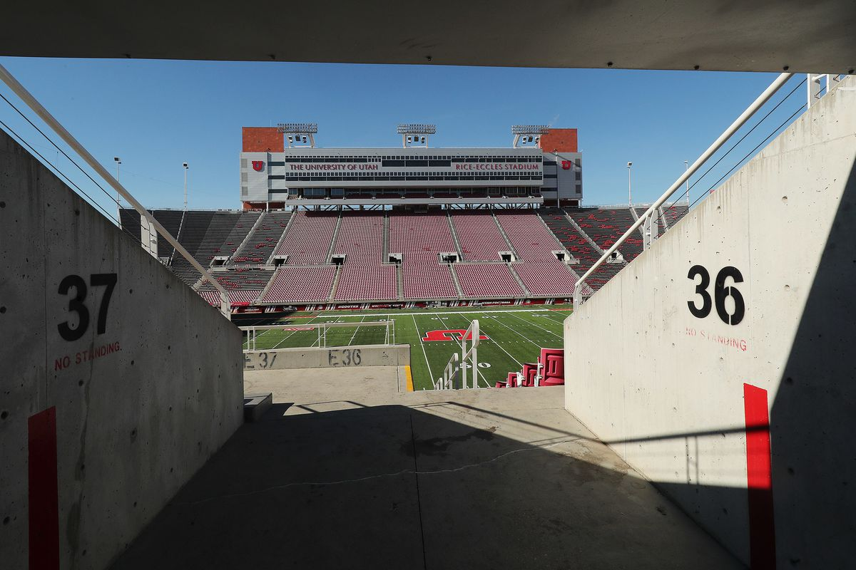 The University of Utah Board of Trustees voted unanimously Tuesday to approve an $80 million non-state revenue bond to upgrade and expansion of Rice-Eccles Stadium in Salt Lake City on Tuesday, Nov. 13, 2018. The bond must be approved by the Board of Rege