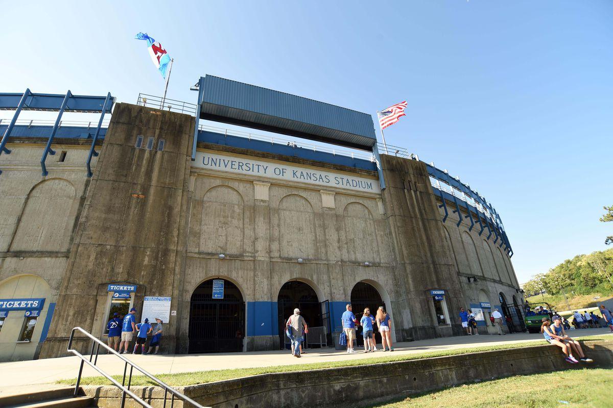 NCAA Football: South Dakota State at Kansas