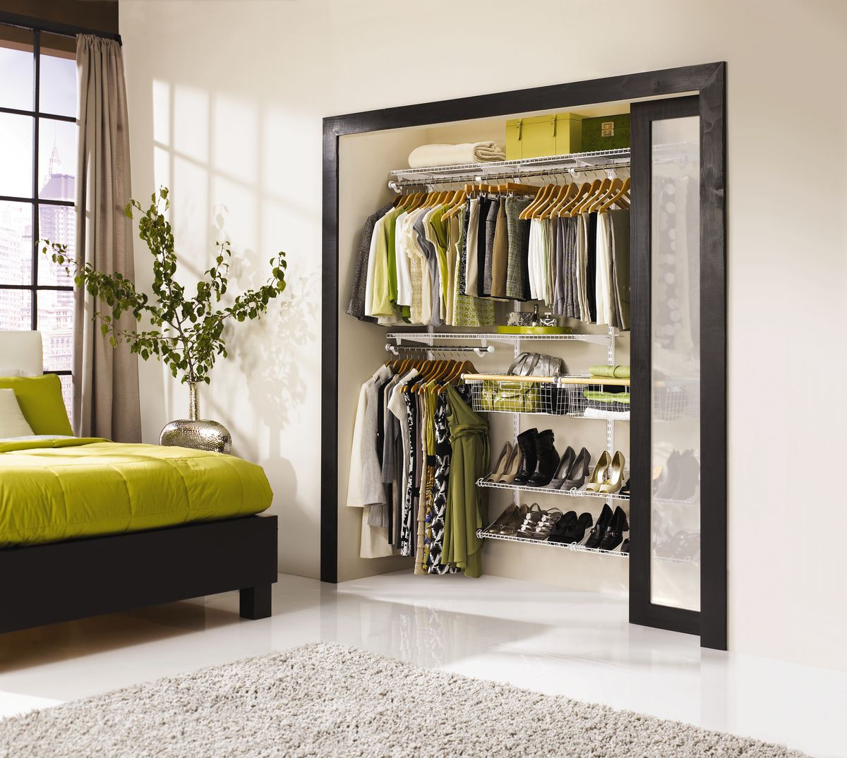 Out of The Box System Options when planning to redo your bedroom closet