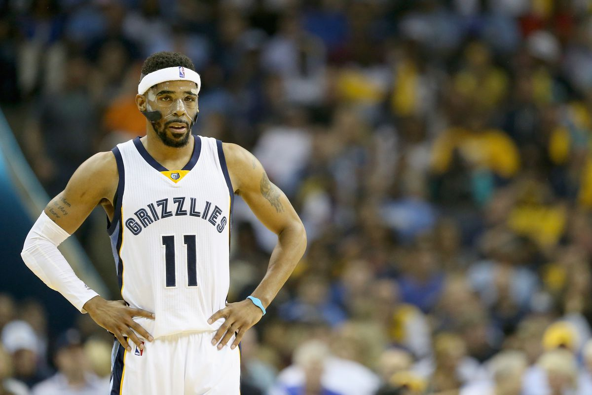 Mike Conley Face Fracture