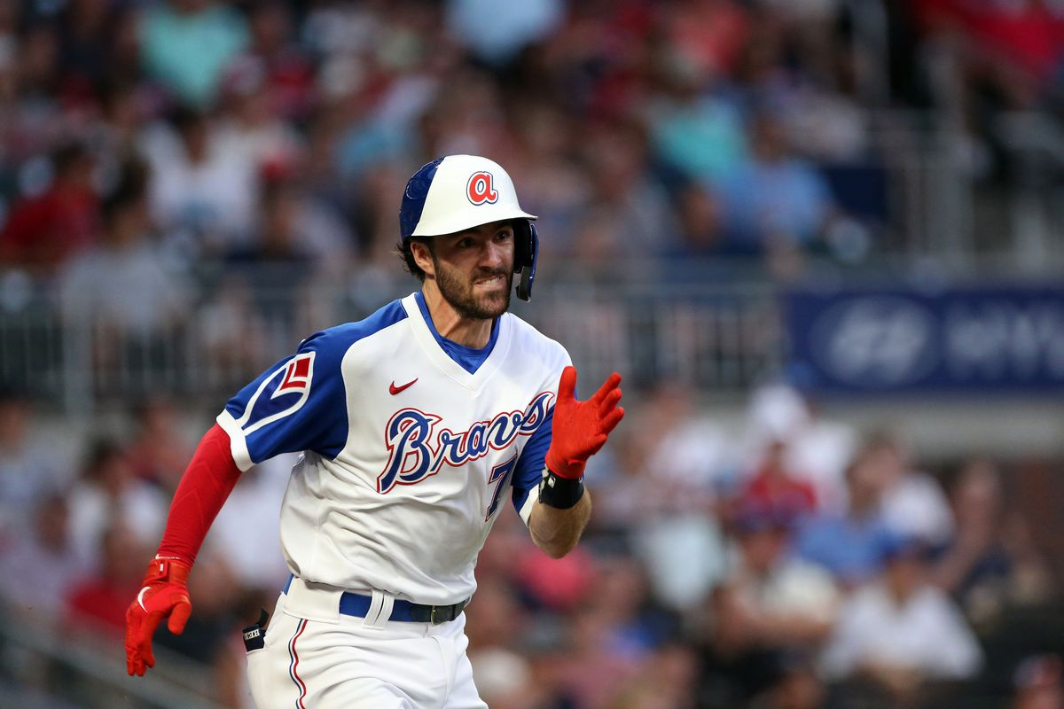 MLB: JUL 30 Brewers at Braves