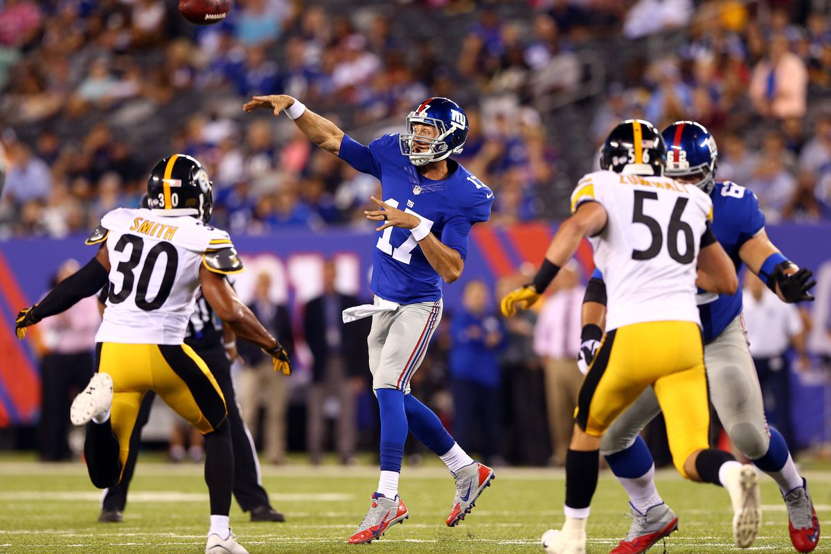 Curtis Painter passes vs. the Steelers