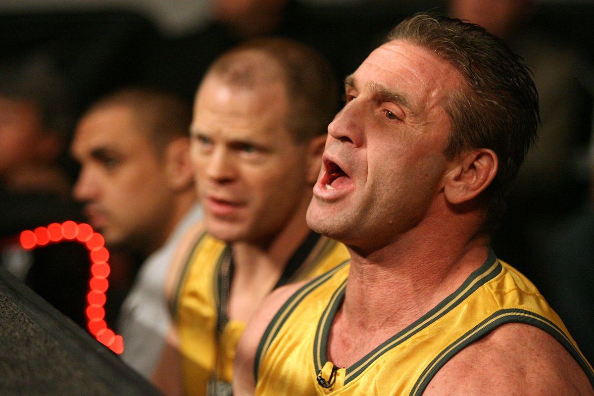 Ufc Pioneer Ken Shamrock Says Mike Tyson Would Be A Perfect Fight For Him Bloody Elbow