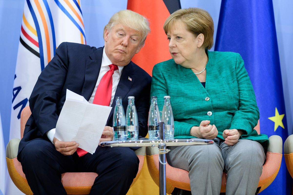Trump Still Hasn T Congratulated Angela Merkel On Her Reelection
