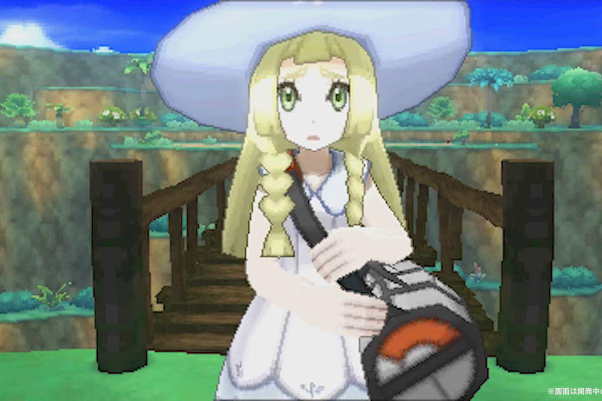 Lillie from Pokémon Sun and Moon.