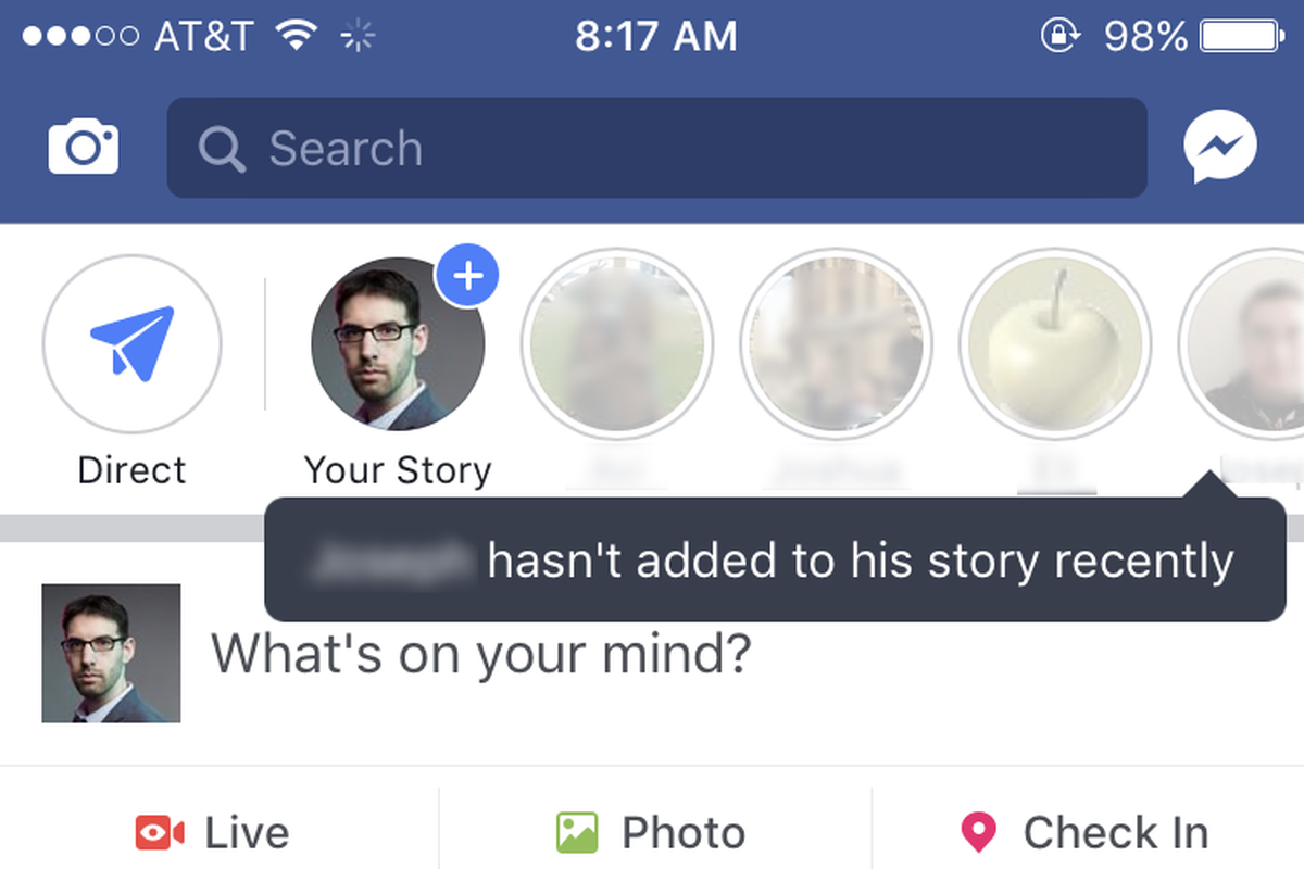 No one is using Facebook stories, so it turned your friends into