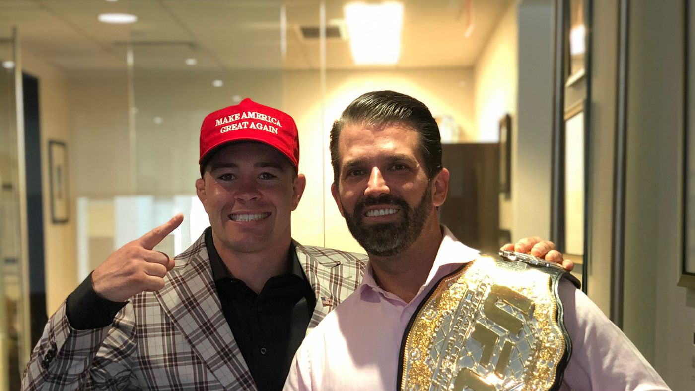 Pic: Donald Trump Jr. is now wearing a UFC belt because MAGA never die! (or something)