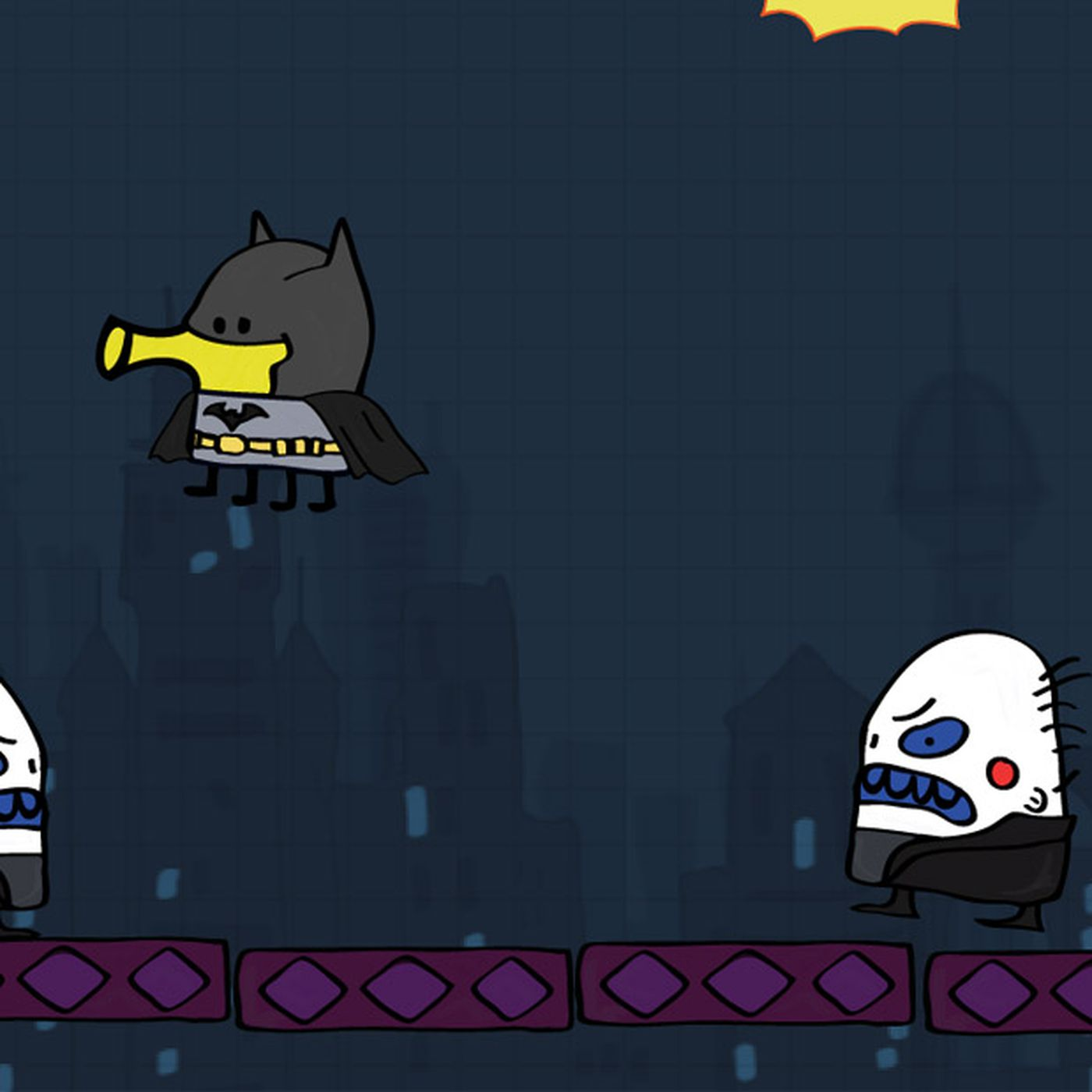 A New Batman Game Thats Also A Doodle Jump Game Hit Ios Today